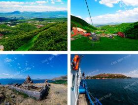 Цахкадзор, (Монастырь Кечарис), озеро Севан (Монастырь Севанаванк)