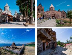 Дилиджан (Гошаванк, Агарцин), озеро Севан (Севанаванк)