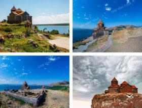 Sevan Lake, (Sevanavank), Noratus, Hayravank