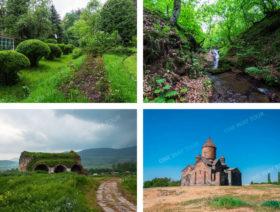 Монастырь Сагмосаванк , Дендропарк, Крепость Лори