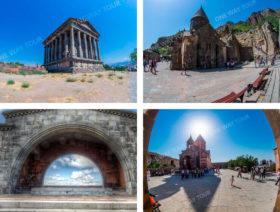 Garni, Geghard, Charents Arch, Khor Virap Monastery