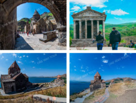 Garni, Geghard, Lake Sevan (Sevanavank)