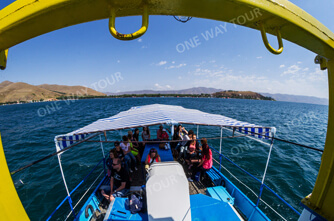 Sailing in Sevan