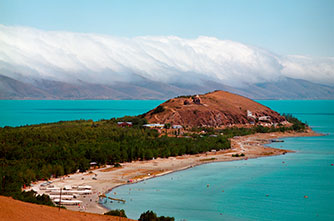 The Sevan Peninsula