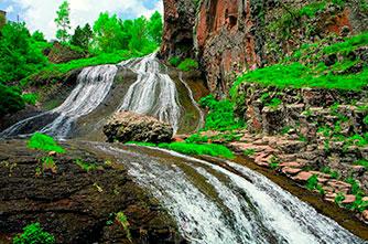 Das Dschermuk Wasserfall