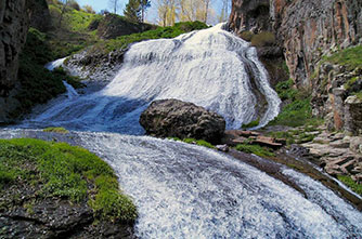 "Jermuk, waterfall ""Mermaid hair"""