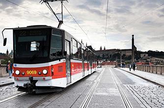 Трамвай, Прага