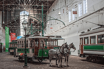 Трамвайный музей, Порту