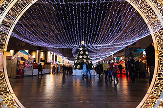 Новый год и Рождество в Ереване