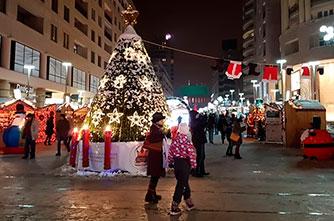 Neujahrsvorbereitungen in Eriwan