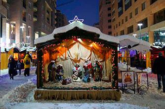 Новогоднее настроение на Северном проспекте