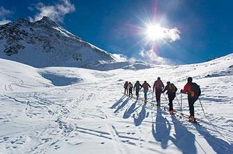 Hiking in Armenia in winter