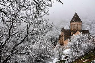 Kecharis monastery, Dilijan