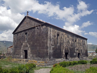 Aparan's St. Khach Bazilik