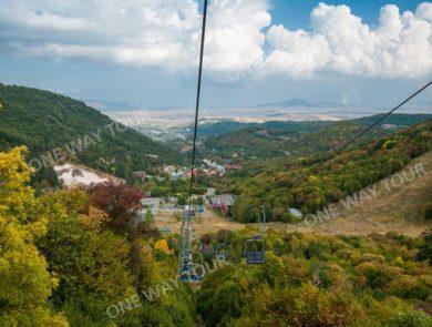 Канатная дорога в Цахкадзоре