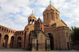Saint Holy Mother church in Yerevan