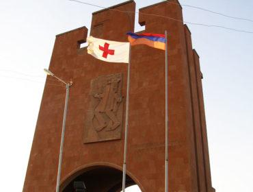 Памятник героической битвы Муса-Дага