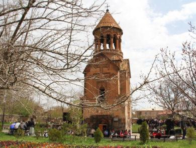 St. Astvatsatsin in Yeghvard