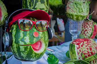 Happy Watermelon Festival in Yerevan