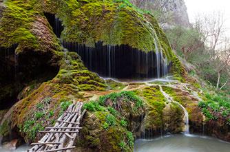 """Umbrella"" waterfall"