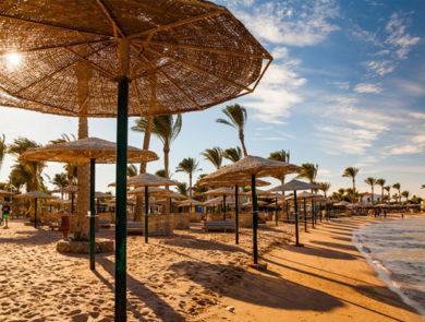 Пляж Красного моря