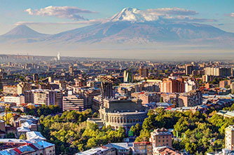 Yerevan, city center