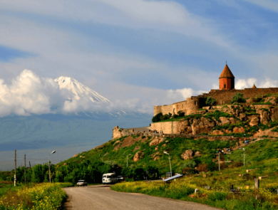 Khor Virap, Etchmiadzin (Mother Cathedral, St. Gayane, St. Hripsime), Zvartnots Cathedral* ****