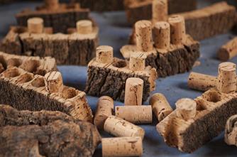 Կաղնու արմատից պատրաստված խցաններ