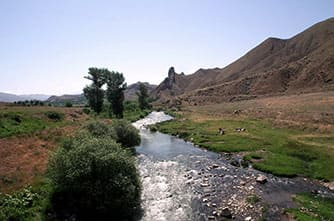 Der Fluss Arpa
