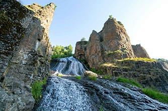 Der Jermuk Wasserfall