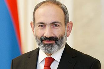 Der Premierminister der Republik Armenien Nikol Pashinyan