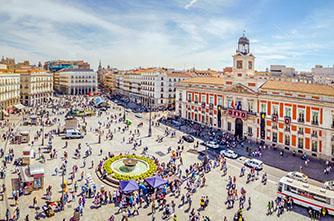 Պուերտա-Դել-Սոլ հրապարակ(Puerta del Sol)