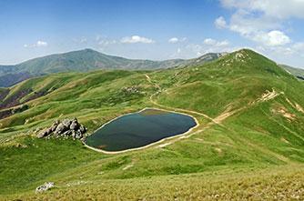Der Tsaghkunyats-See