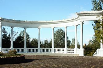 Der Stadtpark von Gyumri