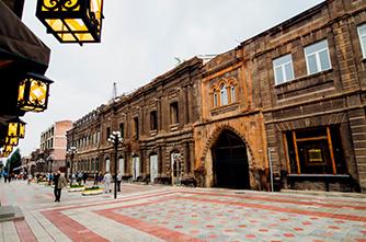 Улица Абовяна, Гюмри