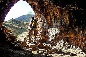 Изучение пещер в Армении