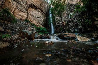 Водопад Ваагн, Хосровский заповедник