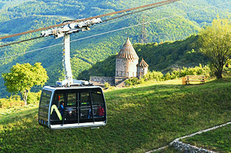"""Wings of Tatev"" cable car"