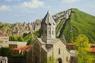 Die Kirche des Heiligen Gregor des Erleuchters