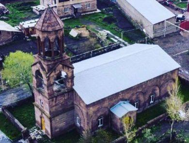 Սբ. Աստվածածին եկեղեցի, Մեծ Մանթաշ