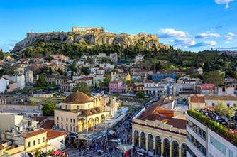 Атенк, Греция