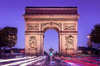 Հաղթական կամար, Փարիզ