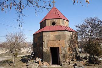 Церковь Св. Карапета, Арзни
