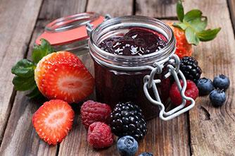 Süßigkeiten und Marmeladen