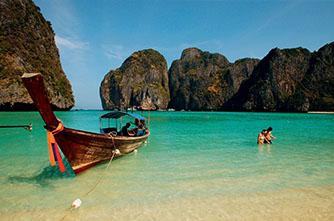 Остров Пхи-Пхи-Лей Бухта Майя, Таиланд