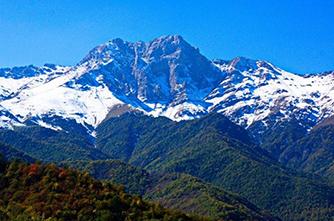 Der Berg Khustup